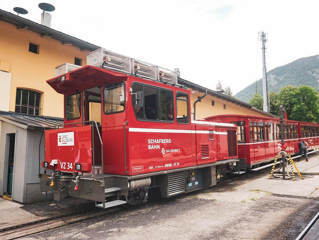 Schafbergbahn Lokomotive