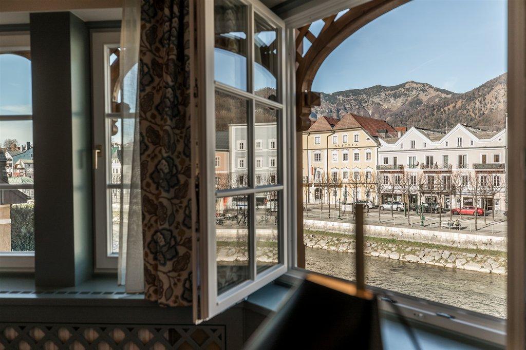 Blick aus dem Fenster des Hotel Goldener Ochs