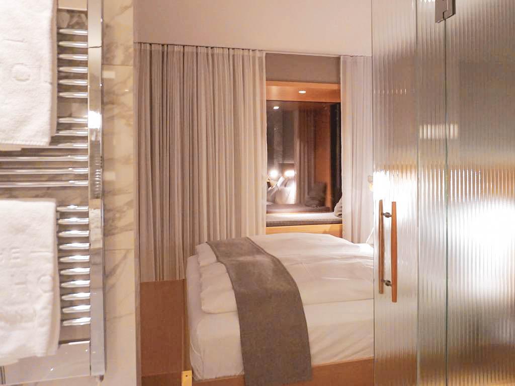 Schlafbereich The Guesthouse Vienna