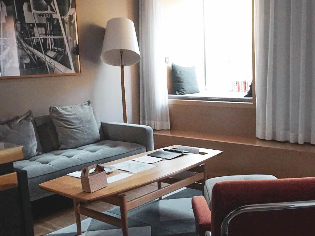 Wohnbereich The Guesthouse Vienna