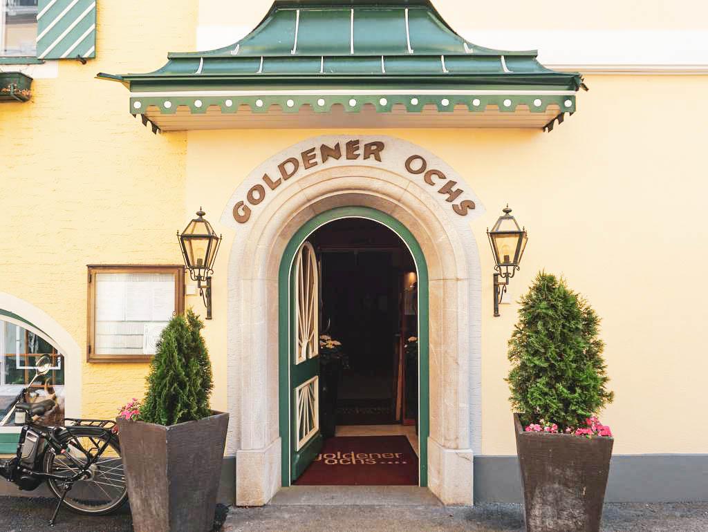 Eingang Goldener Ochs