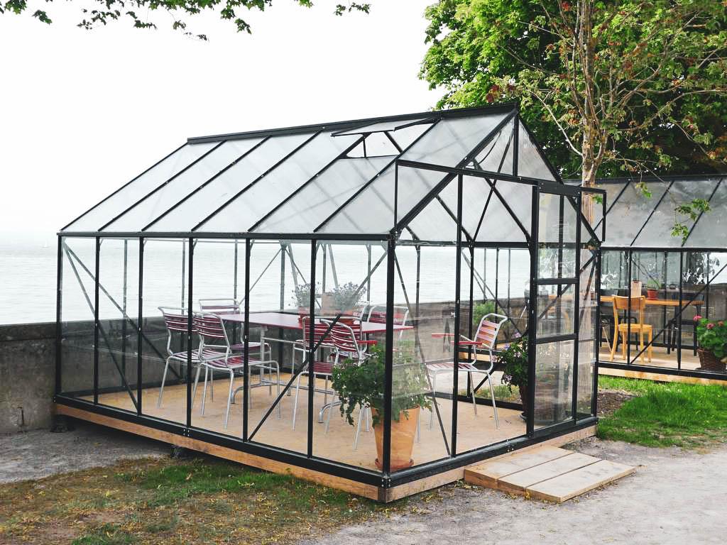 Gartenschau in Lindau Glashaus